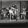 Lesley Ann Warren, Scooter Teague and ensemble in the stage production 110 in the Shade