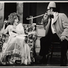 Geraldine Page and Larry Blyden in the stage production Absurd Person Singular