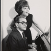 Irving Berlin and Ethel Merman during rehearsal for the stage production Annie Get Your Gun