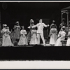 Bruce Yarnell and cast in the stage production Annie Get Your Gun