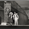 Ethel Merman and Bruce Yarnell in the stage production Annie Get Your Gun