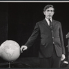 Peter Cook in the stage production Beyond the Fringe