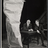 Alan Bennett and Jonathan Miller in the stage production Beyond the Fringe