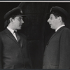 Peter Cook and Jonathan Miller in the stage production Beyond the Fringe