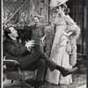 Fritz Weaver, Peter Sallis, and Inga Svenson in the stage production Baker Street