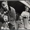 Fritz Weaver, Peter Sallis, and Inga Svenson in the stage production Baker Street