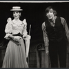 Inga Svenson and unidentified actor in the stage production Baker Street