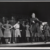 Ray Bolger and cast members in the stage production All American