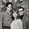 Publicity photo of Alan Alda, Barbara Harris, and Larry Blyden from the stage production The Apple Tree