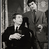 Robert Reed and Keith Baxter in the stage production Avanti!