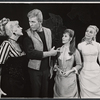 Benay Venuta, Harve Presnell, Eileen Christy, and Dran Seitz in the stage revival Carousel