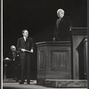 Sidney Blackmer, Van Heflin and Larry Gates in the stage production A Case of Libel
