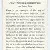 Jean Forbes-Robertson as Peter Pan.