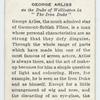 George Arliss.