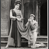 Lizabeth Pritchett and Larry Blyden in the 1972 Broadway revival of A Funny Thing Happened on the Way to the Forum
