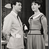 Darryl Hickman and Michele Lee in the stage production How to Succeed in Business