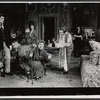 Christopher Reeve, Elizabeth Lawrence, Katherine Hepburn, Charlotte Jones, Wanda Bimson, Robert Moberly and Paul Harding in the stage production A Matter of Gravity