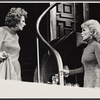 Jane Hoffman and Janet Leigh in the stage production Murder Among Friends.