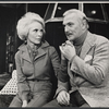 Janet Leigh and Jack Cassidy in the stage production Murder Among Friends.