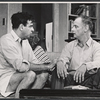 Walter Matthau and Art Carney in the stage production The Odd Couple