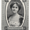 Janet Alexander.