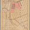 Map of property owned by Francis Pidgeon, 17th ward of the city of Brooklyn.