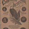 Government Counterfeit Detector, Vol. XXVII, no. 1
