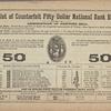Government Counterfeit Detector, Vol. XXIX, no. 7