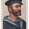 It's the Tobacco that counts. Players Navy Cut. Player's please. [H.M.S. Invincible's sailor].