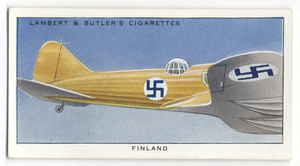 Finland. Finnish Air Force. Digital ID: 407028. New York Public Library