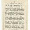 Armstrong Whitworth XV 'Atalanta' class (Great Britain).