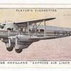 De Havilland 'Express Air Liner' (Great Britain).