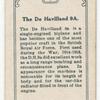 The De Havilland 9A.
