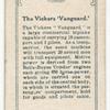 The Vickers 'Vanguard'.