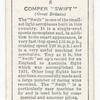 Comper 'Swift' (Great Britain).