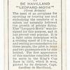 De Havilland 'Leopard Moth' (Great Britain).