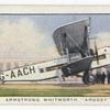 Armstrong Whitworth 'Argosy'.