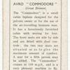 Avro 'Commodore'.