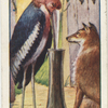 The fox and the stork.
