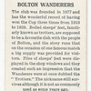 Bolton Wanderers.