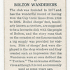 Bolton Wanderers.