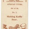 Making Kaffir Beer.