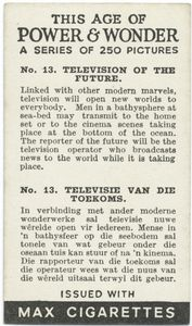 Television of the future.