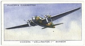 Vickers 'Wellington I' bomber.