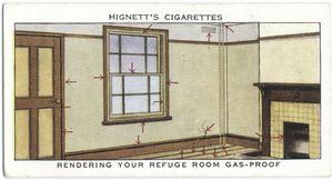 Rendering your refuge  room gas-proof.