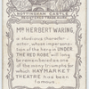 Herbert Waring in 'Under the Red Robe'.