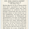 Sir John Martin-Harvey.