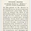Richard Hearne.