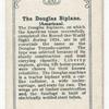 The Douglas Biplane (American).