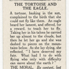 The tortoise and the eagle.